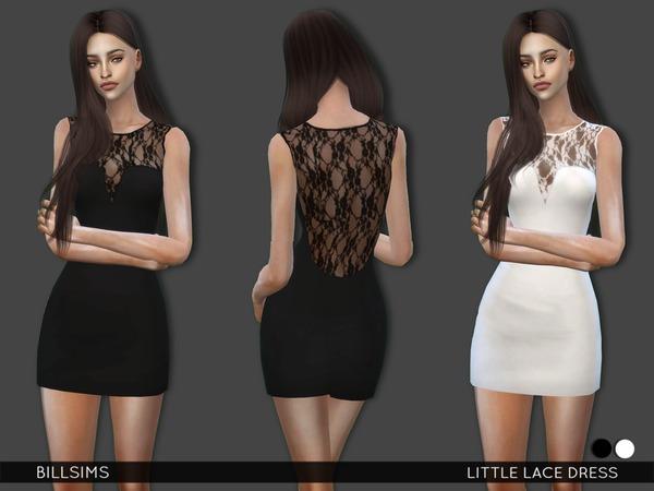 Little Lace Dress By Bill Sims