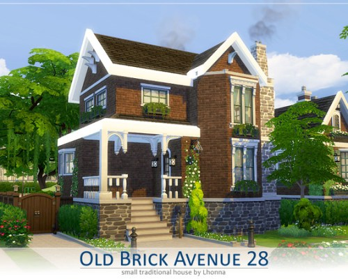 Old Brick Avenue 28 house by Lhonna