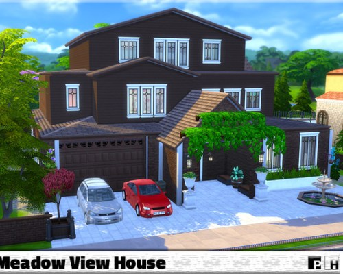 Meadow View House by Pinkfizzzzz
