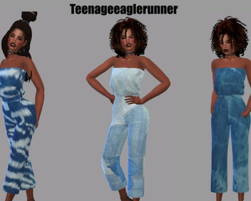 Tube Jumpsuit Recolor by Teenageeaglerunner
