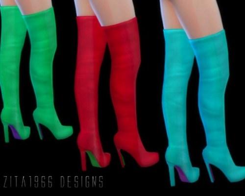 Funky Boots by ZitaRossouw