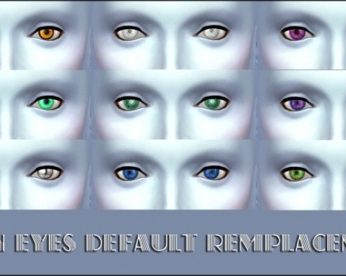 Updated default alien eyes by Simalicious