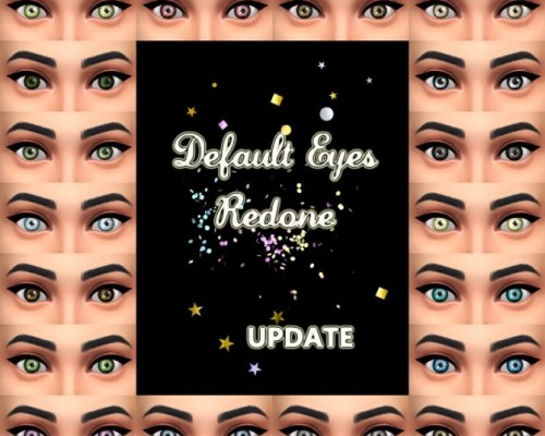 Updated default eyes 2017 by Simalicious