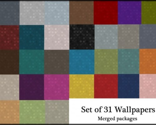 Updated set of 31 abstract wallpapers by Simalicious