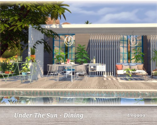 UNder The Sun Dining by ung999