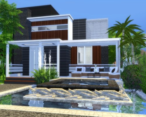 Modern Nitara house by Suzz86