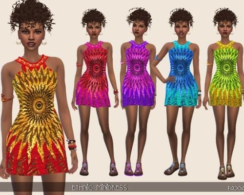 Ethnic Mini dress by Paogae