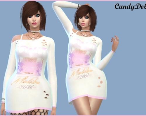 1987 Designer Dress by CandyDolluk
