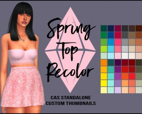 Spring Top Recolor by Sympxls