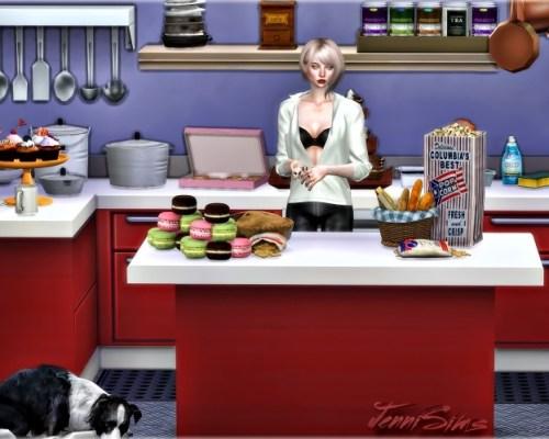 Kitchen Supplies Decoratives 21 Items