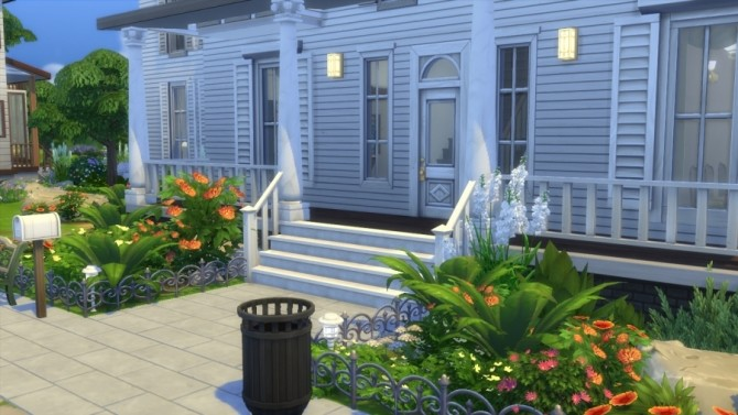 Colonial House By SundaySims