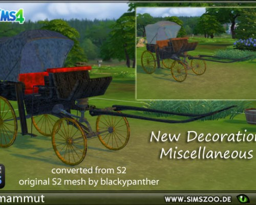 Blacky's carriage by mammut