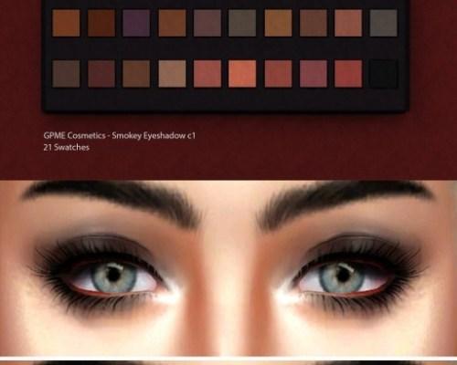 Smokey Eyeshadow c1