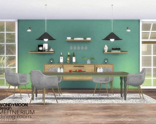 Meitnerium Diningroom by wondymoon