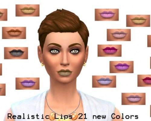 Mat Lipstick by Simalicious