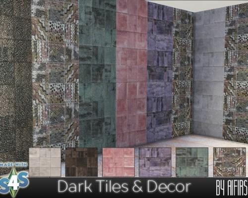 Dark Tiles & Decor