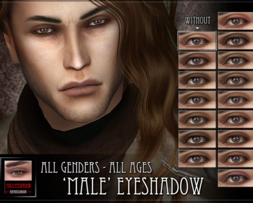 Male Eyeshadow by RemusSirion