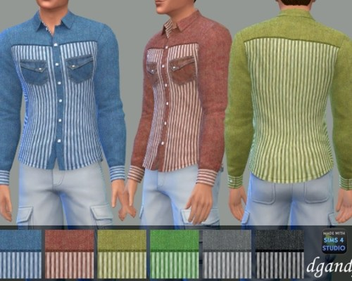 Long Sleeve Shirt B by dgandy