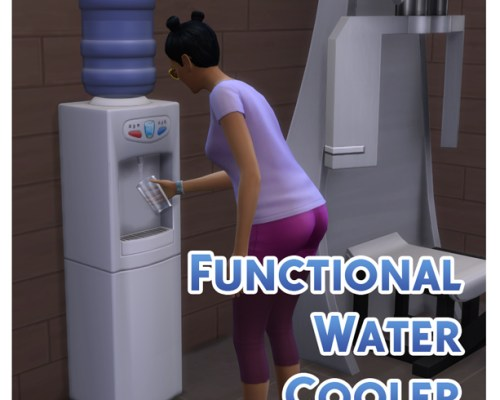 Functional Water Cooler by Menaceman44