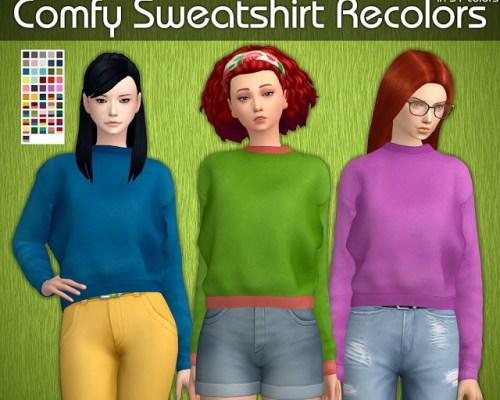 Comfy Sweatshirt Recolors