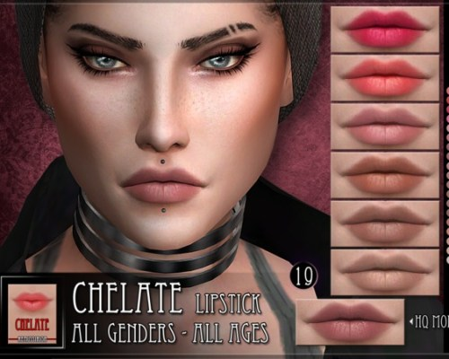 Chelate Lipstick by RemusSirion