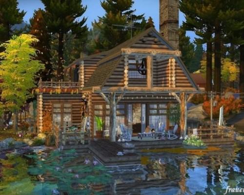 Autumn mood cabin