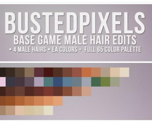 Male Hair Edits