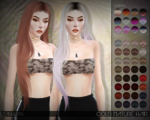 Cold Nature Hair by Leah Lillith