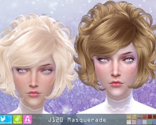J120 Masquerade hair (Pay)