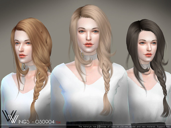 Hair OS0904 By WingsSims