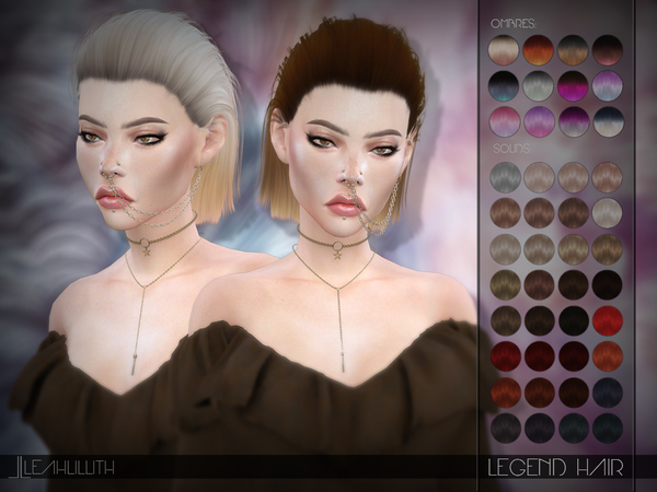 Legend Hair By LeahLillith