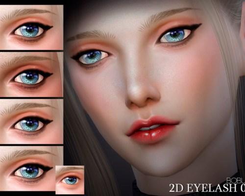 2D Eyelash 02 by Bobur3