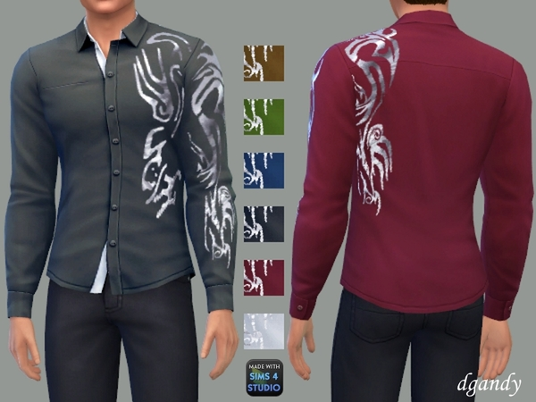 Long Sleeve Shirt D By Dgandy