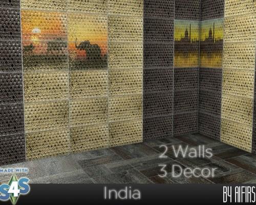 India walls