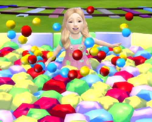 Star Ball Pit for Toddlers