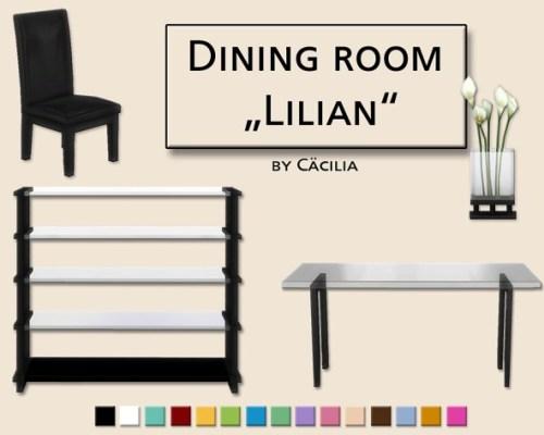 Lilian Diningroom by Cäcilia