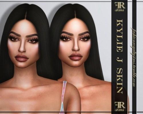 Kylie J skintone