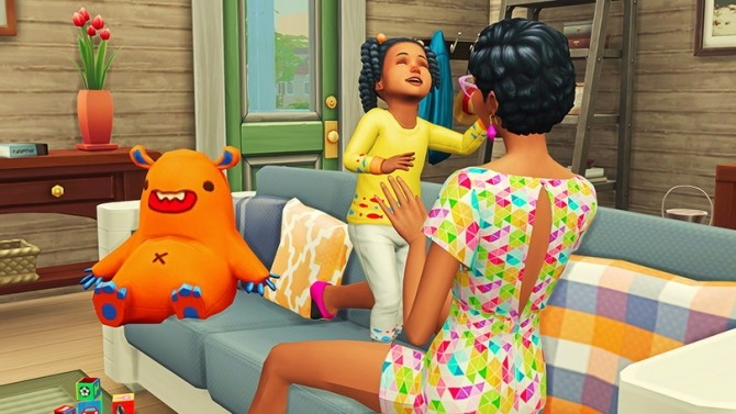 Mommy & Toddler Laugh Pose Pack