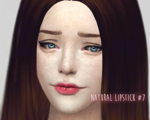 Natural lipstick #7