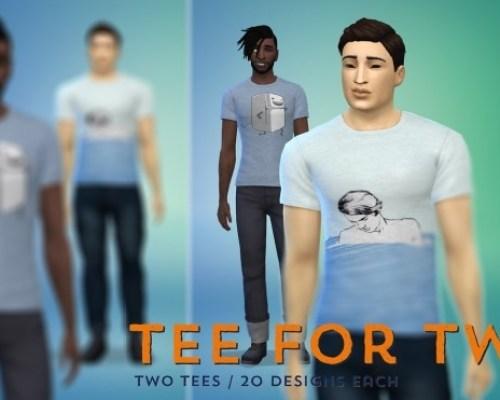 Two tee shirt styles at Baufive