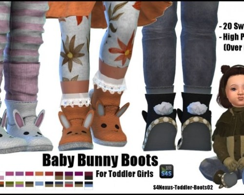 Baby Bunny Boots by SamanthaGump