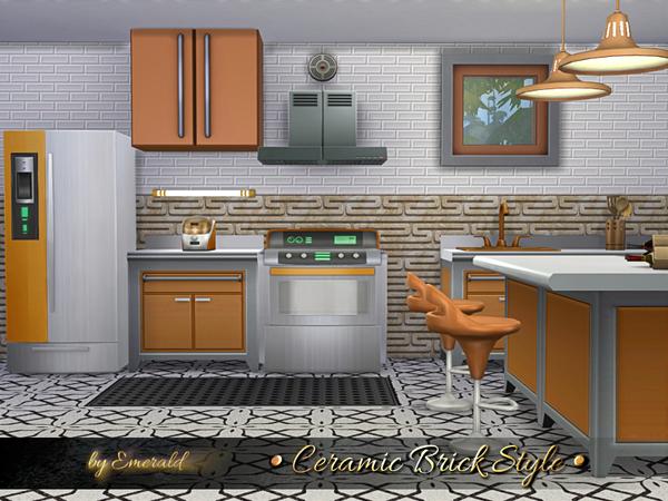Ceramic Brick Style By Emerald