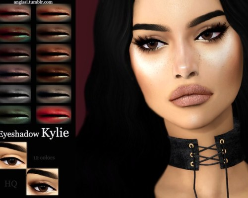 Kylie eyeshadow by ANGISSI