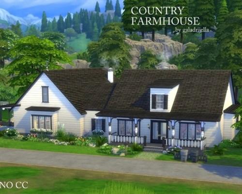 Country Farmhouse by galadrijella