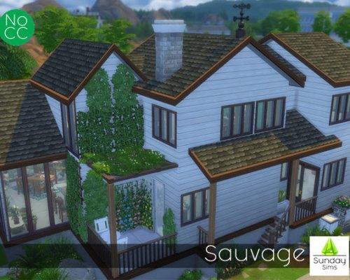 Sauvage house by SundaysimsSA