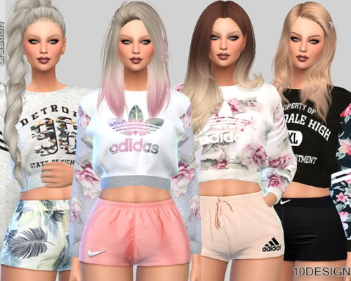 Sweatshirts Collection 010 by Pinkzombiecupcakes