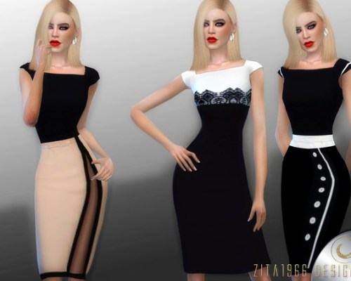 Black Zoosh dresses by ZitaRossouw