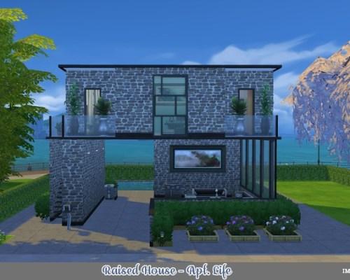 IMF Raised House by IzzieMcFire