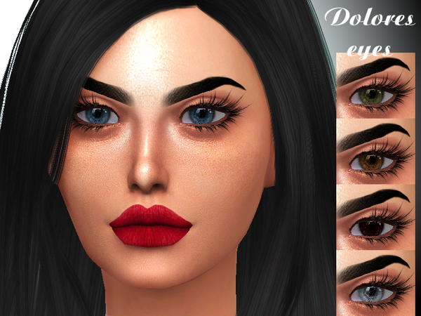 Dolores Eyes By Sharareh