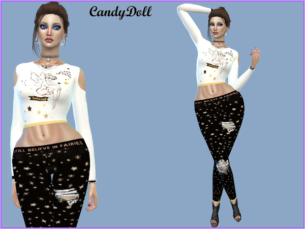 Cute Tinker Bell Set By CandyDolluk